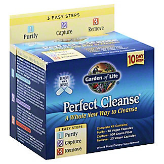 Garden of Life Perfect Cleanse Kit, EACH