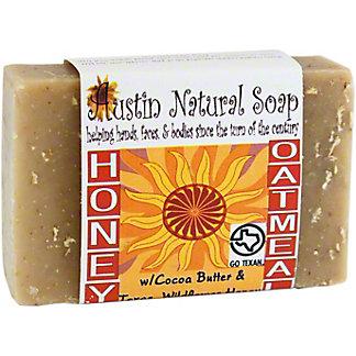 Austin Natural Soap Honey Oatmeal Bar Soap, 4.5 oz