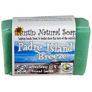 AUSTIN NATURAL SOAP Padre Island Breeze Bar Soap, 4.5OZ
