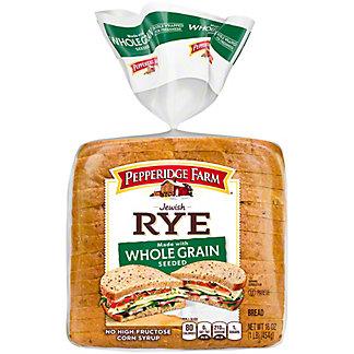 Pepperidge Farm Whole Grain Seeded Jewish Rye Bread,16 OZ