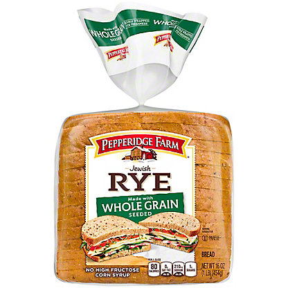Pepperidge Farm Whole Grain Seeded Jewish Rye Bread,16 OZ