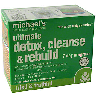 Michael's Naturopathic Ultimate Detox Cleanse and Rebuild, ea