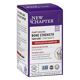 New Chapter Bone Strength Take Care Slim Tablets, 120 CT