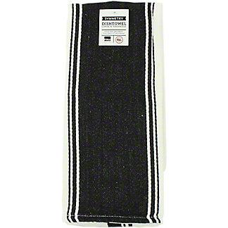 Now Designs Symmetry Black Tea Towel,1EA