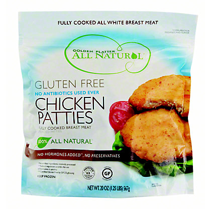 Golden Platter Chicken Patties,20 oz
