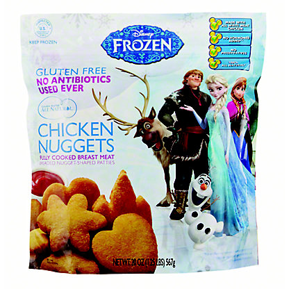 Golden Platter Disney Frozen Chicken Nuggets,20 oz