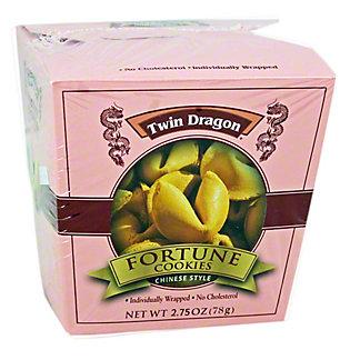 Twin Dragon Fortune Cookies, 2.75 oz