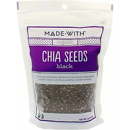 Made With Organic Black Chia Seeds, 12 OZ
