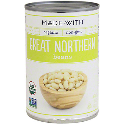 Made With Organic Great Northern Beans,15 oz