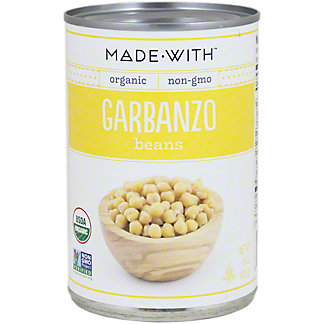 Made With Organic Garbanzo Beans,15 oz
