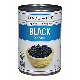 Made With Organic Black Beans,15 OZ