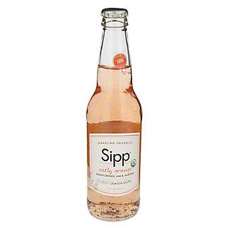 Sipp Sparkling Beverage Zesty Orange, 12 oz