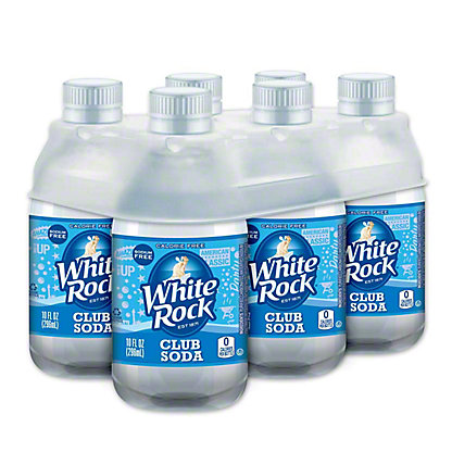 White Rock White Rock Club Soda,10.00 oz