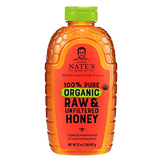 NATURE NATES Organic Honey,32OZ
