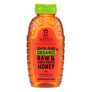 NATURE NATES Organic Honey,16OZ