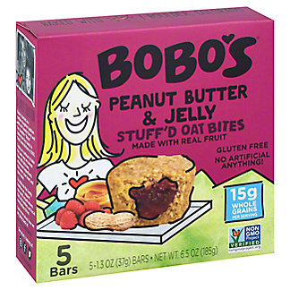 Bobo's Oat Bars Bobos Bites Peanut Butter And Jelly,5 ct