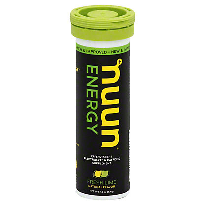 Nuun Energy Fresh Lime Beverage Tab, 10 ct