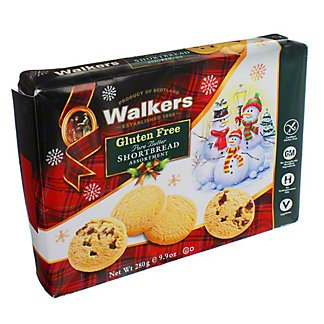 Walkers Gluten Free Holiday Shortbread Assortment, 9.9 oz