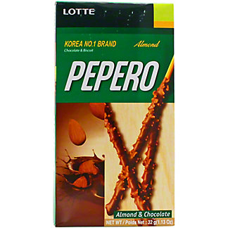 Lotte Pepero Almond, 1.27 OZ