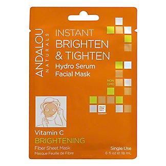 Andalou Naturals Fiber Sheet Mask Brightening,EACH
