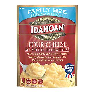 Idahoan Family Size Four Cheese Mashed Potatoes, 8 oz