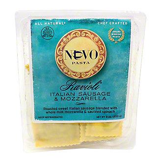 Nuovo Pasta Italian Sausage & Mozzarella Ravioli,9 OZ
