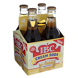 IBC Cream Soda,4PK - 12OZ