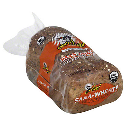 Eureka Organic Bread, Saaa-wheat,27 OZ