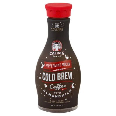 Califia Farms Peppermint Mocha Cold Brew Coffee 48 OZ