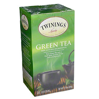 Twinings Green Tea Bags, 25 ct