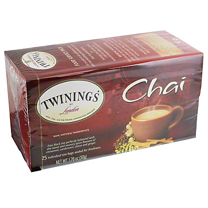 Twinings Chai Tea, 25 ct