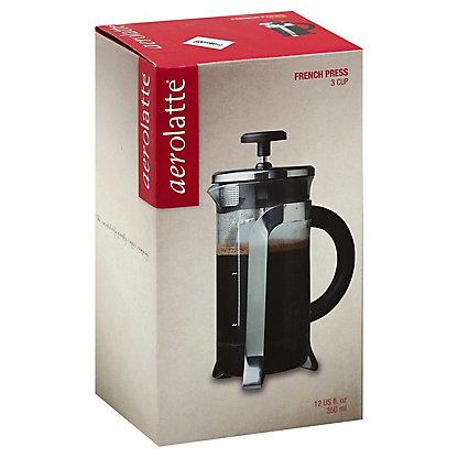 Aerolatte Coffee Maker 3 Cup French Press, ea
