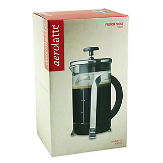HAROLD IMPORT Aerolatte Coffee Maker 5 Cup French Press,ea