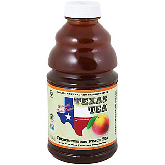 Texas Tea Fredericksburg Peach Tea,32 OZ