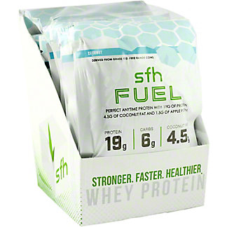 Stronger Faster Healthier Fuel Coconut Box, 10 PK