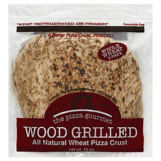 The Pizza Gourmet Wheat Pizza Crust, 2 ct
