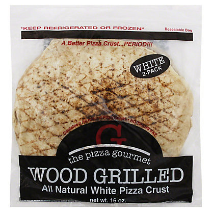 Pizza Gourmet Wood Grilled Pizza Crust, 2 ct