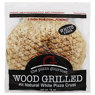 The Pizza Gourmet White Pizza Crust, 2 ct