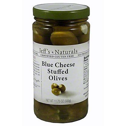 Jeffs Naturals Blue Cheese Stuffed Olives,11.75 oz