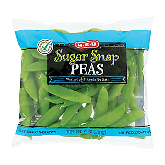 H-E-B Sugar Snap Peas, 8 oz