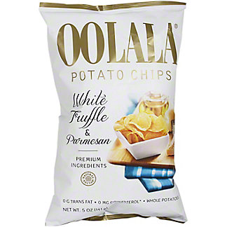 Oolala Potato Chip White Truffle & Parmesan,5 OZ