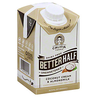Califia Farms Better Half Unsweetened, 16.9OZ