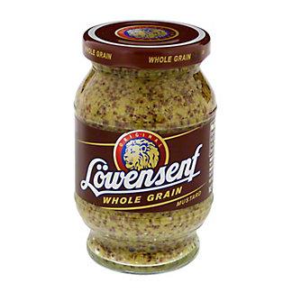 Lowensenf Whole Grain Mustard, 9.34 oz