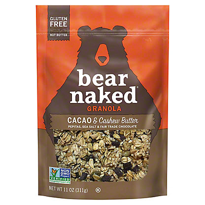 Bear Naked Soft Baked Granola Cacao Cashew Butter,11 OZ