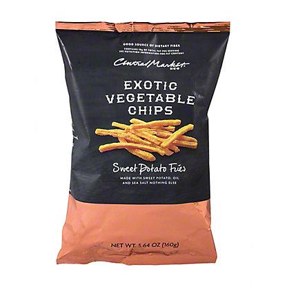 Central Market Sweet Potato Fries Sea Salt,5.64 oz