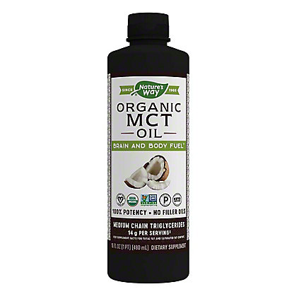 Nature's Way MCT Oil From Coconut, 16 oz