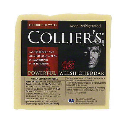 Collier's Powerful Welsh Cheddar, EACH