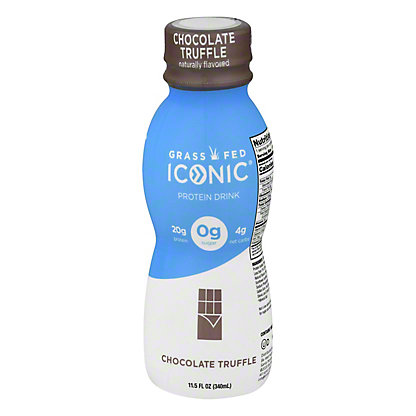 Iconic Protein Drink Chocolate Truffle,11.5 OZ