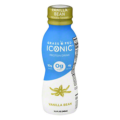 Iconic Protein Drink Vanilla Bean,11.5 OZ