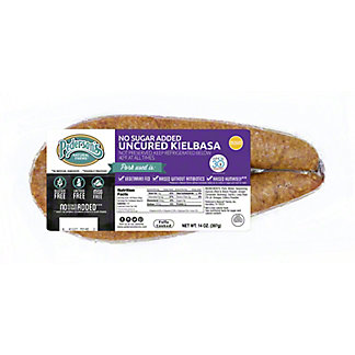 Pedersons Uncured No Sugar Smoked Kielbasa, 14 oz